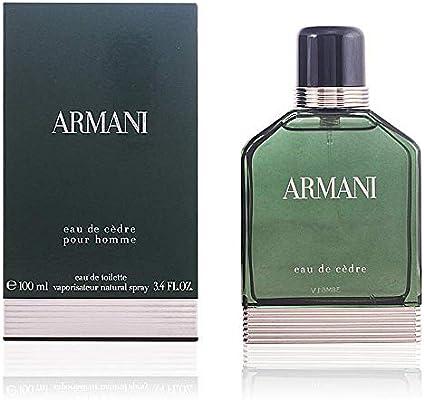 68ac8643f0f01 Emporio Armani Armani Eau de Cèdre Agua de Colonia - 100 ml  Amazon ...