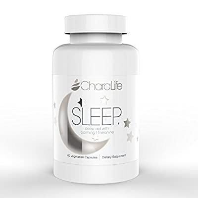 SLEEP - All Natural Sleep Supplement, Calms Anxiety, Best for Jet Lag & Travel, Best Valerian Supplement, WITH Melatonin and L-Theanine for ZERO Grogginess!