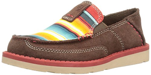 Ariat Kids Cruiser Slip-On Shoe, Palm Brown, 6 M US Big Kid