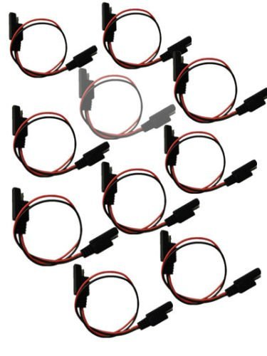 Amazon Com 10pcs 18 Gauge 2 Pin Quick Disconnect Wire Harness Sae