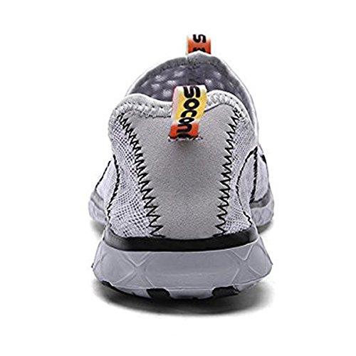 Chaussures respirante S Homme CHNHIRA chaussures Aquatiques basket de plage 4pwFFYdq
