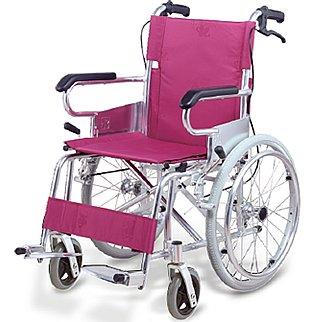 落ち着いた色合いのチェリーパープルカラー!【アプラウド】【自走式】【超軽量】【最小コンパクトモデル】【アルミ】【車椅子】【折りたたみ】【ノーパンクタイヤ】【車イス】A102-AP B005MM35UI