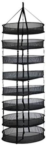 Grower's Edge Dry Rack w/Clips - 2 ft