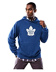 NHL Men's Felt Tek Patch Hooded Fleece Sweater