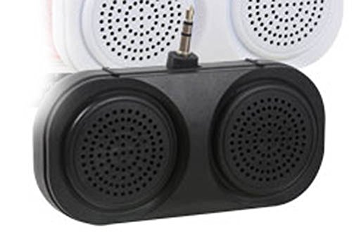 MD USA - Portable Mini Stereo Speakers with 3.5mm Folding Jack Plug