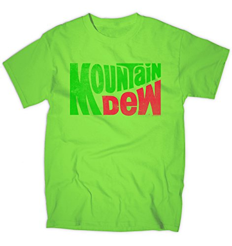 Mountain Dew Classic Logo Licensed T-shirt