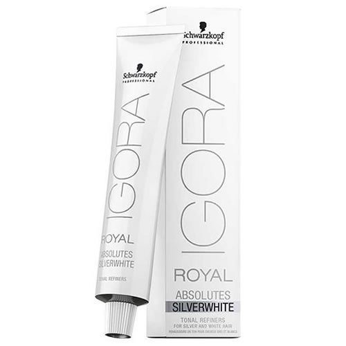 Schwardzkopf professional Igora Royal Absolutes Silver White, Dove Grey Medium Absolute Silver Matte