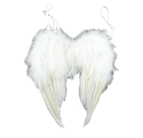 Touch of Nature 10919 Feather Angel Wing, White 9 X 10-Inch