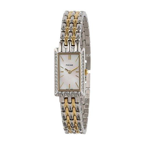 Pulsar Women's PEGE77 Crystal Jewelry (Pulsar Gold Wrist Watch)