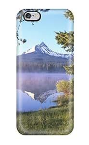Awesome Design Big Lake At Sunrise Mount Washington Oregon Nature Other Hard Case Cover For Iphone 6 Plus