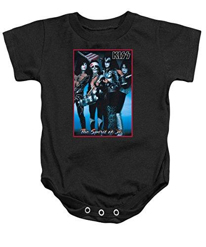 Infant: Kiss - Spirit Of 76 Onesie Infant Onesie Size 6-12 Mos