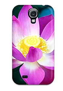 New Arrival Lotus Flower For Galaxy S4 Case Cover