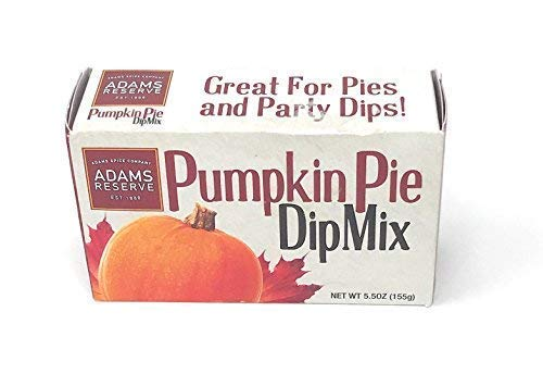 Adams Reserve Pumpkin Pie Dip 2-pack Mix Party Dessert - Limited Release