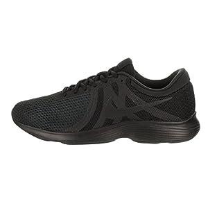 Nike Mens Revolution 4 Running Shoe Black/Black 10.5