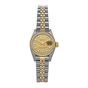 Best Epic Trends 41i8jQ2sJ6L._SS300_ Rolex Datejust Mechanical(Automatic) Champagne Dial Watch 69173 CHP DI Jub (Pre-Owned)
