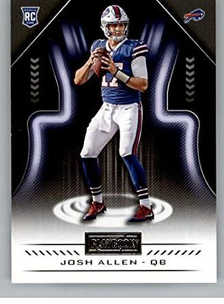 2018 Playbook Football  124 Josh Allen RC Rookie Card Buffalo Bills Rookie  Official NFL Card aaec3c272