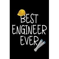 El mejor ingeniero de la historia: cuaderno de cuaderno en blanco