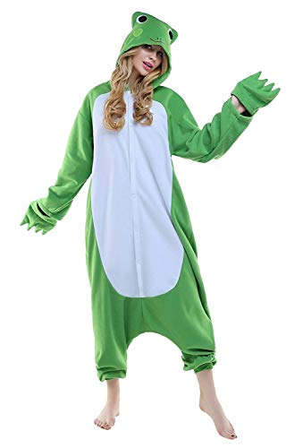 Combinaison De Halloween Anime Unisexe Nuit Outfit Costume Adulte Onesie Pyjama Soiree Vetements Abyed Fleece Deguisements Grenouille Animal Cosplay Z1wYxO