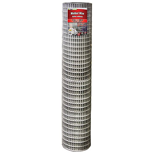 (YARDGARD 309225A 72 inch by 100 Foot 14 Gauge 1 inch by 2 inch mesh Galvanized Welded Wire)