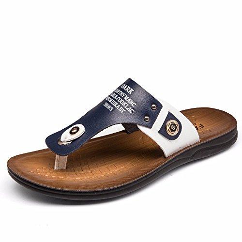 estate Il nuovo Scarpe da spiaggia Uomini gioventù personalità Uomini Tempo libero Uomini sandali infradito tendenza ,blu,US=9?UK=8.5,EU=42 2/3?CN=44