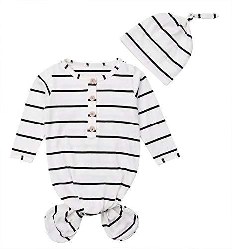 Newborn Baby Boy Girl Stripe Crib Sleeping Bag Wrap Swaddle Bathrobe Sleep Sack Blanket Size 0-6 Months/Tag80 - Stripes Crib Newborn