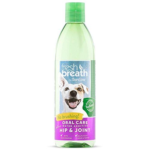 Fresh Breath Mint (TropiClean Fresh Breath Oral Care Water Additive Plus Hip & Joint, 16oz)