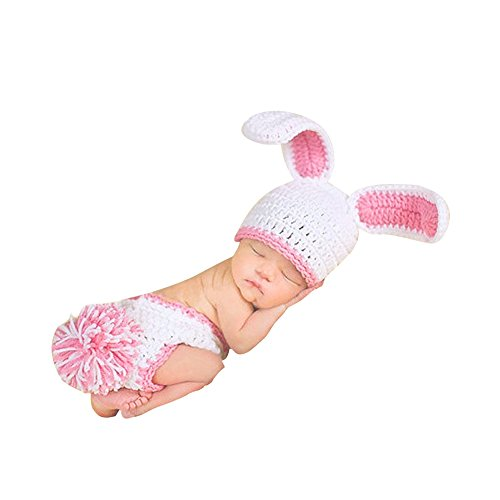 Baby Consumer Crochet Clothes Photo Prop Outfits Photography Set 2-12 Months for Boys Girls 2 Pack (Halloween Store Portland Oregon)