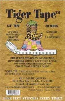 Tiger Tape 1/4