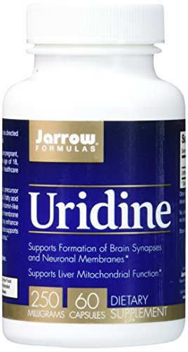 Jarrow Formulas Uridine, Supports Brain, Memory, Liver Health, 250 Mg, 60 Caps