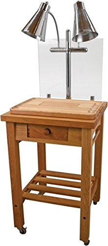 Buffet Enhancements Maple Butcher Block Carving Station, Wood (Butcher Block Buffet compare prices)