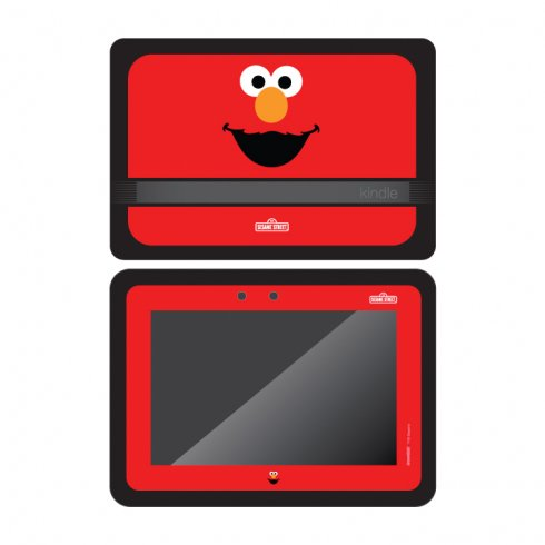 Less Decal Set - Elmo Decal Set for KindleTMFire HD