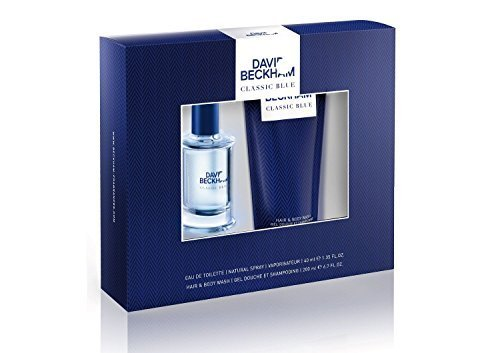 David Beckham Classic Blue Gift Set EDT 40ml and 150ml Shower Gel by David Beckham
