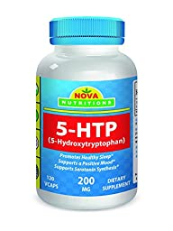 5-HTP 200 mg 120 Veggie Capsules by Nova Nutritions