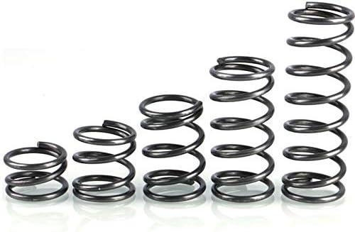 10pcs rotor Pression ressort comprim/é Ressort de rappel Ressort ligne Diam/ètre 0,9 mm Taille : 20mm Diam/ètre ext/érieur 17mm W-NUANJUN-SPRING