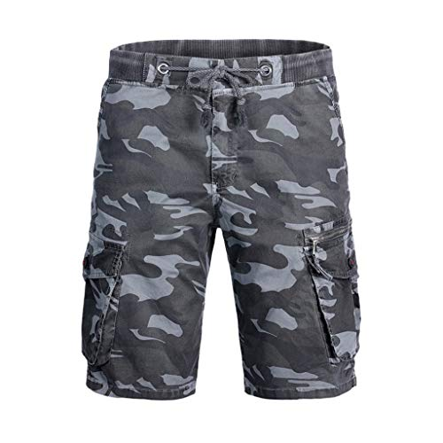 - Fashion Men's Cotton Pocket Camouflage Outdoors Work Trouser Cargo Short Pants, MmNote