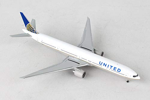 - Herpa 529877 United Airlines Boeing 777-300ER 1:500 Scale REG#N58031 Diecast Display Model