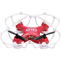 Arshiner CX-10 Mini Drone 6-Axis Gyro 4CH 2.4GHz CF Mode 360° Eversion RC Quadcopter(Red)