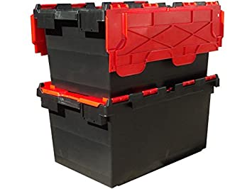 10 x Large Plastic 80 Litre Heavy Duty Storage Boxes (71 x 46 x 36.8  sc 1 st  Amazon UK & 10 x Large Plastic 80 Litre Heavy Duty Storage Boxes (71 x 46 x 36.8 ...