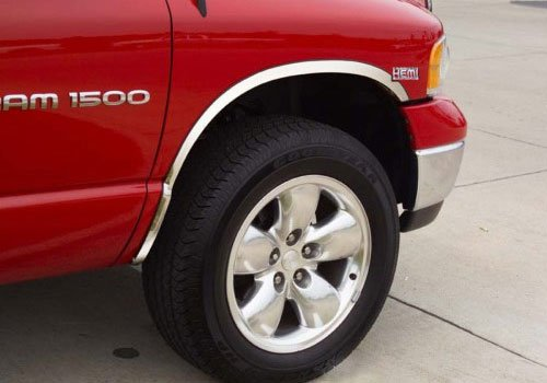 Putco 97190 Stainless Steel Fender Trim Kit For Dodge Ram 1500