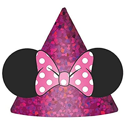 Minnie Mouse Ears w/ Bows (8 Pack): Toys & Games