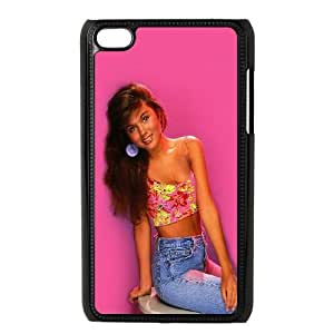 iPod Touch 4 Case Black ha60 kelly kapowski saved by the bell SU4549738