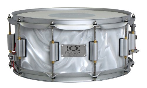 Drum Craft Series 7 DC837212 Birch 14 x 6.5 Inches Snare Drum, Liquid Chrome by Drum Craft