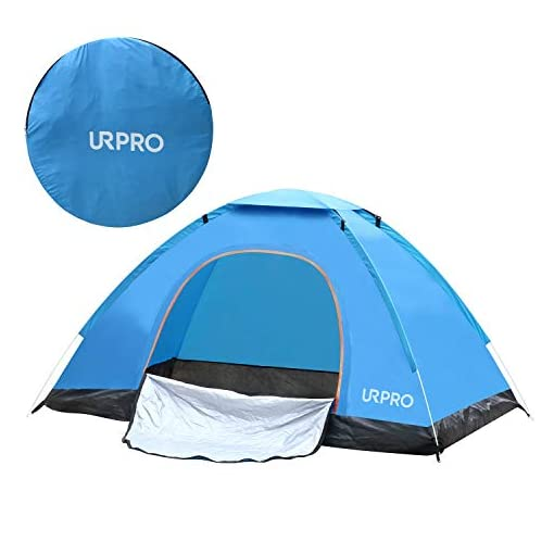 URPRO-Instant-Automatic-pop-up-Tent-2-Person-Lightweight-TentWaterproof-Windproof-UV-Protection-Perfect-for-Beach-Outdoor-TravelingHikingCamping-Hunting-Fishing-etc