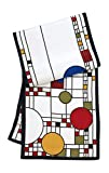 The festive abstract balloon-and-confetti theme of the leaded-glass windows designed by Wright for the Avery Coonley Playhouse (c. 1912), Riverside, Illinois, and a similar one for the Imperial Hotel, Tokyo, have inspired generations of designers. Th...