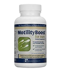 MotilityBoost is a non-prescription supplement designed specifically to support sperm motility when taken with FertilAid for Men. (MotilityBoost is not a standalone product; it must be taken along with FertilAid for Men.) Sperm motility is an...