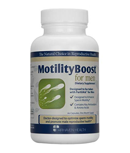 - MotilityBoost for Men: Support Sperm Motility