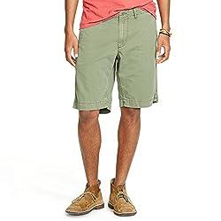Denim & Supply Ralph Lauren Flat Front Surplus Chino Shorts (30, Dark Navy)