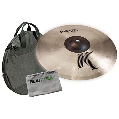 Zildjian K0933 18'' K Cluster Crash w/Geartree Cloth and Cymbal Bag