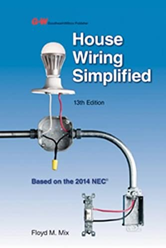 House wiring simplified floyd m mix 9781619608627 amazon com on what is house wiring Household Wiring Basics Light Switch Home Wiring Diagram