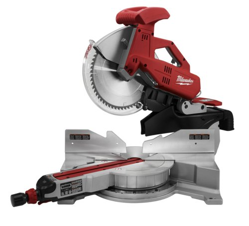 Milwaukee 6955-20 12-Inch Sliding Dual Bevel Miter Saw with Digital Miter Angle Fine (0.1 Hp Motor)
